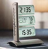 Tri-Flag World Clock Weather Station