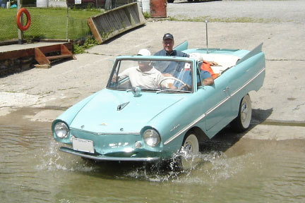 Vehicle 2 1963 Amphicar fully functioning for unique PR opportunities